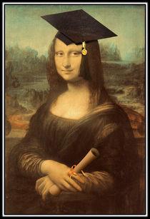 Mona Lisa 's Graduation by gravityx9