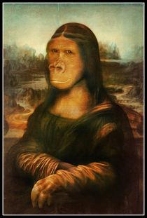 Mona Rilla (Mona Lisa Gorilla) by gravityx9