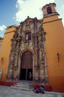 San Diego Church Guanajuato Mexico by John Mitchell