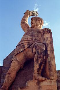 El Pipila Monument Guanajuato Mexico von John Mitchell