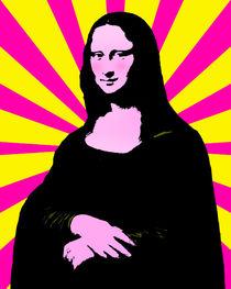 Pop Art Mona Lisa von gravityx9