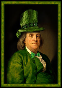 Lucky Ben for St. Patrick's Day  by gravityx9