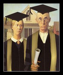 American Gothic Graduation by gravityx9