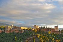 Die Alhambra in Granada  von ralf werner froelich