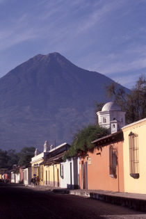 UNDER THE VOLCANO Antigua Guatemala by John Mitchell