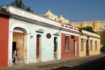 ANTIGUA STREET Guatemala by John Mitchell