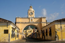 SANTA CATALINA ARCH Antigua Guatemala by John Mitchell