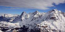 Jungfraumassiv von Bettina Schnittert