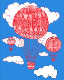 Hot Air Balloon by lush-tart