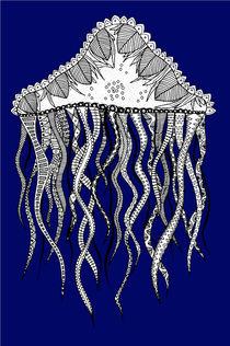 Blue Jellyfish by lush-tart