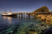 The MV Oldenburg at Lundy Island von Rob Hawkins
