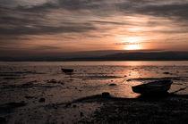 The Exe estuary at dusk  von Rob Hawkins