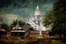 Old Whitewashed Lemyethna temple von RicardMN Photography