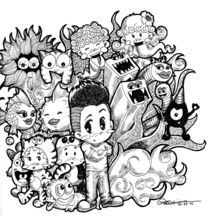 Me and My Doodles by Ryan Adriano