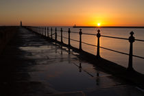 Tynemouth Pier Sunrise von David Pringle