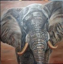 Elefant by Sonja Blügel