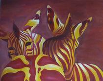 Zebras by Sonja Blügel