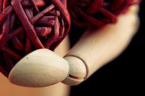 Wood hand by Maria Livia Chiorean