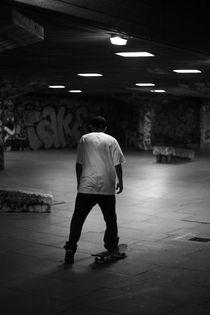 Skateboarder von Tim Allen