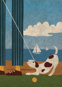 Playful Dog von Benjamin Bay