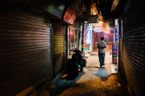 New Delhi by night. by Tom Hanslien