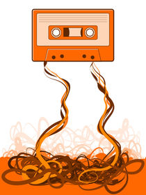 Cassette Tape Unraveled by Geoff Leighly