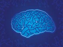 Blue Technology Brain von Geoff Leighly