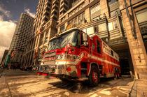 Boston Fire Truck  by Rob Hawkins