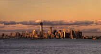 Manhattan Skyline at dusk von Rob Hawkins