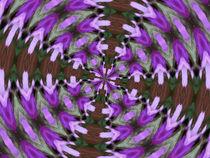 Purple Azaleas Kaleidoscope von skyler