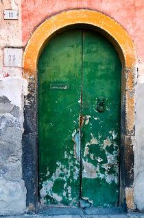 Grüne Antike Holztür - Sizilien von captainsilva