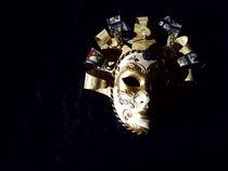 'Mask Carnival small.' von Tricia Rabanal