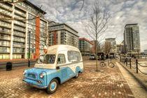 Ice Cream Van by the Docks  by Rob Hawkins