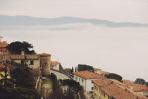 Cortona in the Clouds by Arianna Biasini