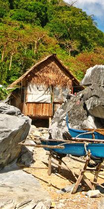 Philippinen- Strohhütten by lessaksart