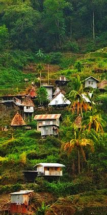 Philippinen - Bergdorf by lessaksart