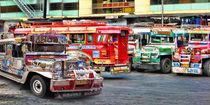 Philippinen - bunte Busse by lessaksart
