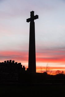 Cross at Durham Cathedral by Graham Prentice