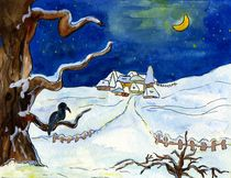 Winterillustration von claudiag