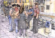'Turiste a Venezia' von Luca  Massone