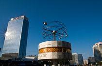 Weltzeituhr am Alexanderplatz - Ostberlin by captainsilva