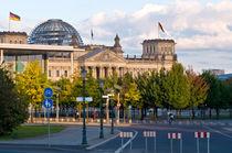 Deutscher Reichstag - Regierungsviertel - Berlin