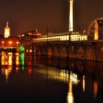 Jannowitzbrücke - Nacht - Berlin von captainsilva