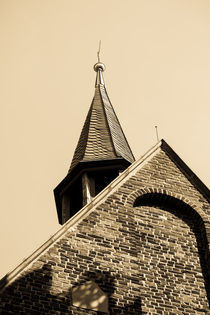 Kirchturm, Schloss Strünkede Herne von Denise Urban