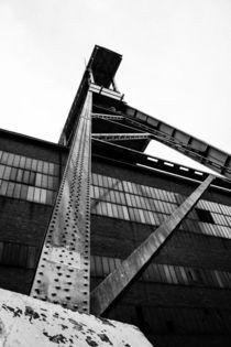 Zeche Ewald Herten, Förderturm, Ruhrgebiet von Denise Urban