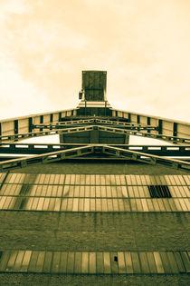 Zeche Ewald Herten, Förderturm, Ruhrgebiet by Denise Urban