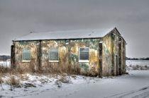 WWII Building Rufforth Airfield von Allan Briggs