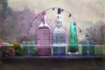 Flaschen-Stillleben von Silvia Streit