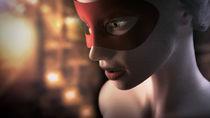 Masked Girl by Violaine Chapelain