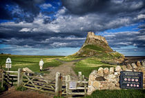 The walk to Lindisfarne by Paul Davis